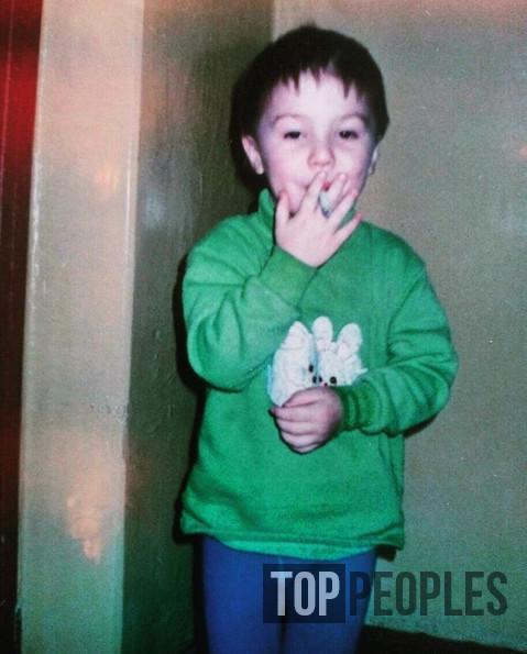 Роберт Фогель в детстве