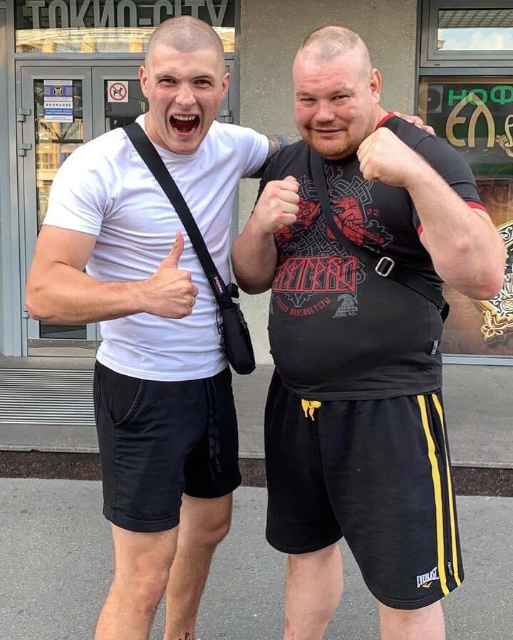 Никита Ворожбитов и Вячеслав Дацик