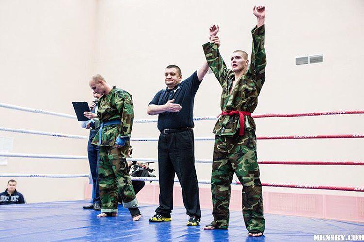 Никита Ворожбитов соревнования по рукопашному бою