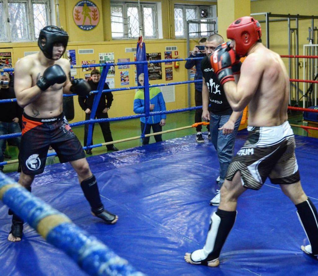 Никита Ворожбитов спарринг соревнование
