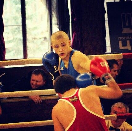 Сергей Воробьев в любительском боксе