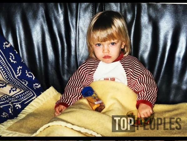 Камилль Раза в детстве