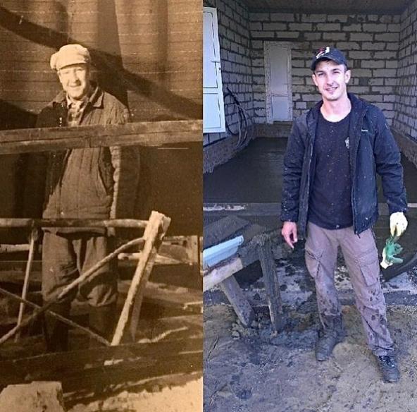 Сергей Лукьянов Вася на Сене и его дедушка
