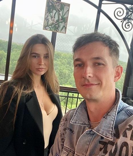 Сергей Лукьянов и его жена