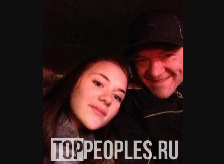 Алина Олешева и её отец Евгений Олешев