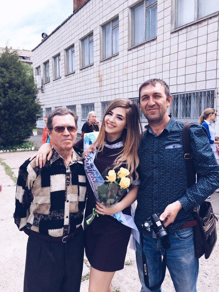 Аня Покров (Pokrov) с родителями (Отец и дед)