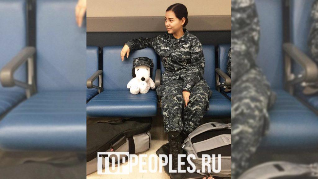Белла Порч на службе в армии фото