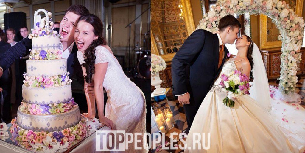 Валерия Чекалина Лер Чек с мужем фото со свадьбы