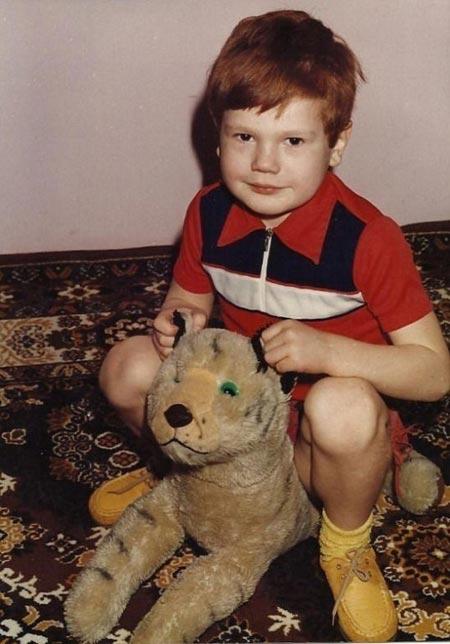 Вячеслав Дацик фото в детстве