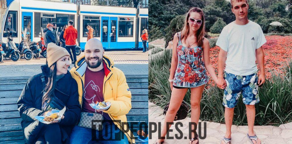 Жекич Дубровский фото с женой