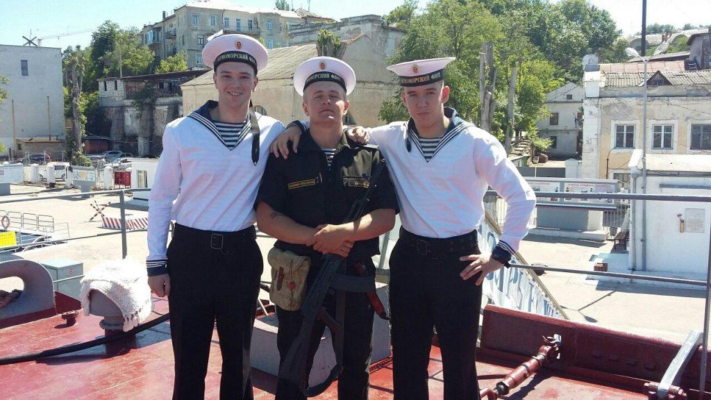 Моряк Курданов на службе в армии морской флот