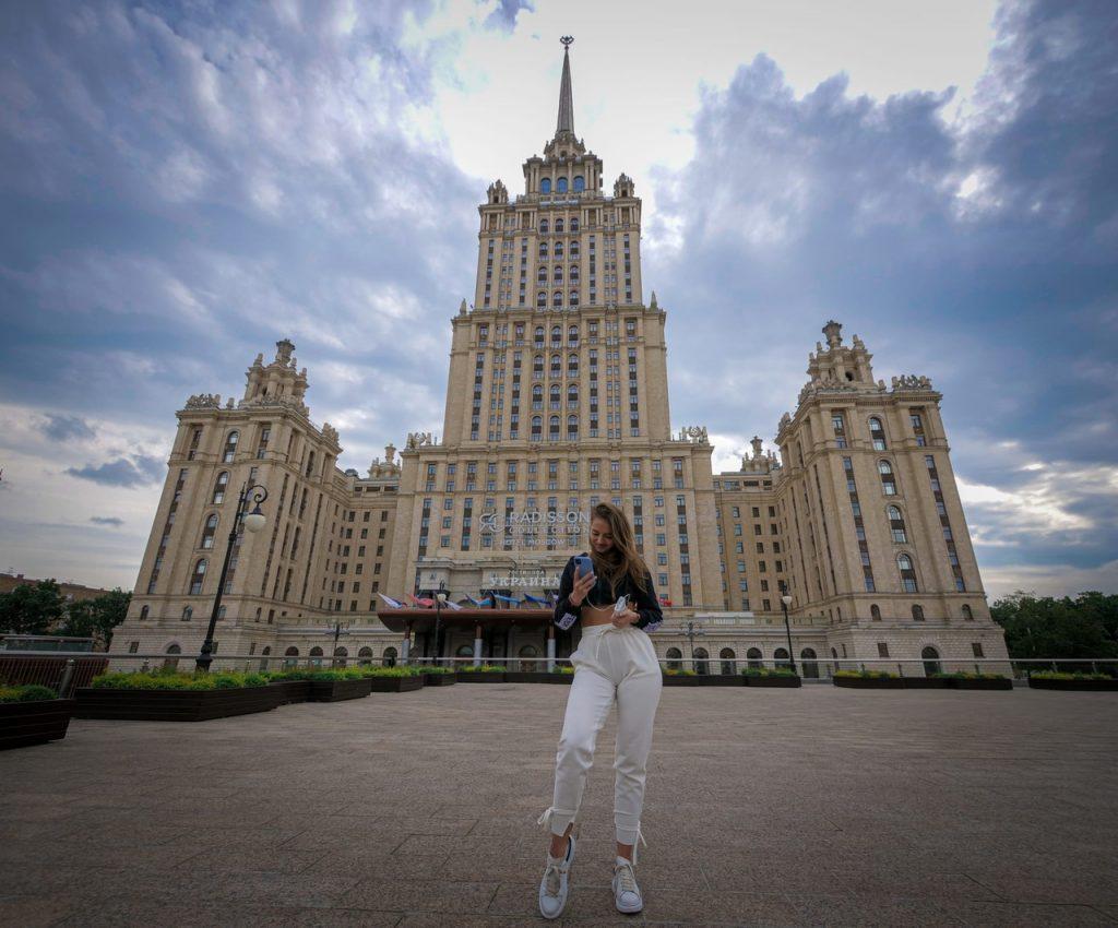 Настя Шардакова в Москве