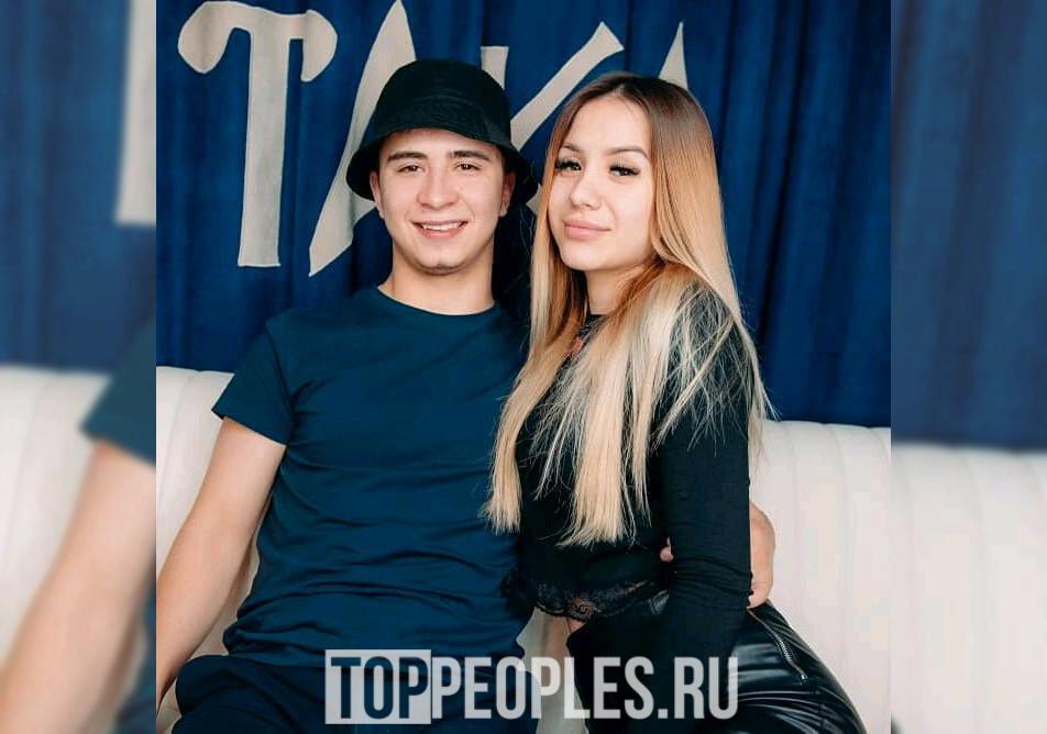 Рамиль и его девушка Сита Плотникова
