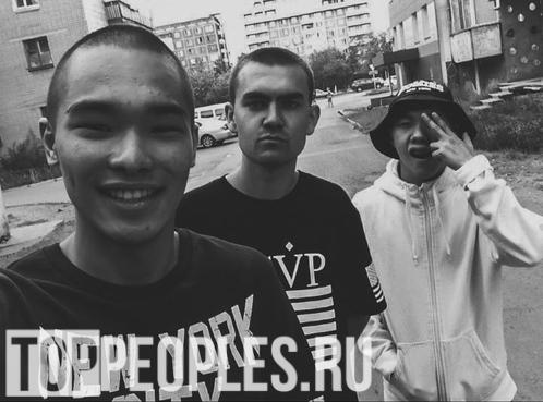Трувер с друзьями в Павлодаре