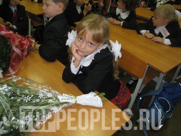 Василина Юсковец в школе фото