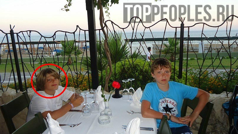 Максим Моргенштерн в детстве фото