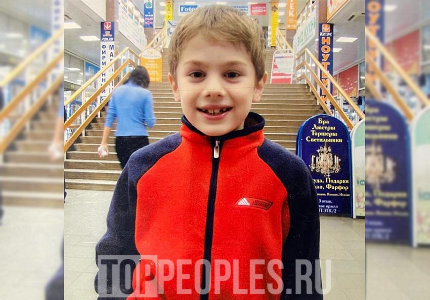 Олег Еропкин (Moneyken) в детстве