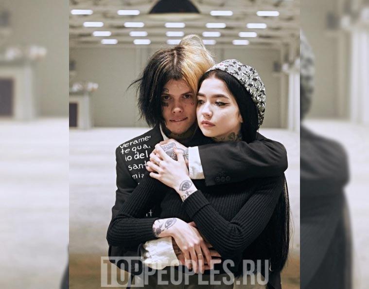 Рэпер Джизус и его девушка Ника Грибанова