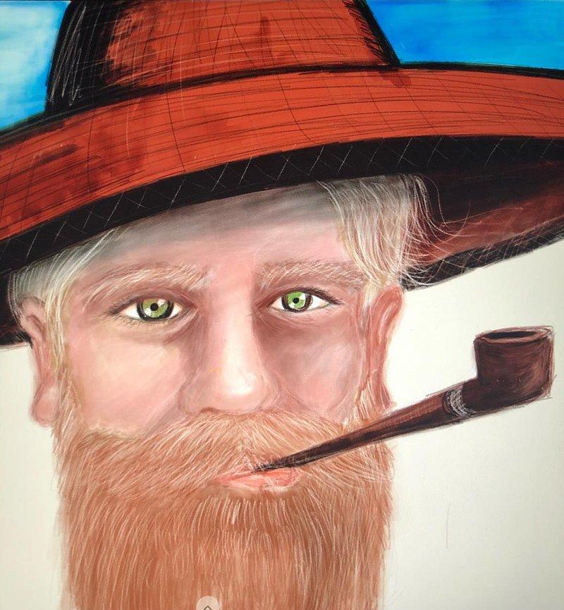 Портрет, нарисованные Эриком