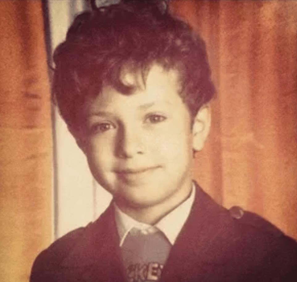 Антон Птушкин в детстве