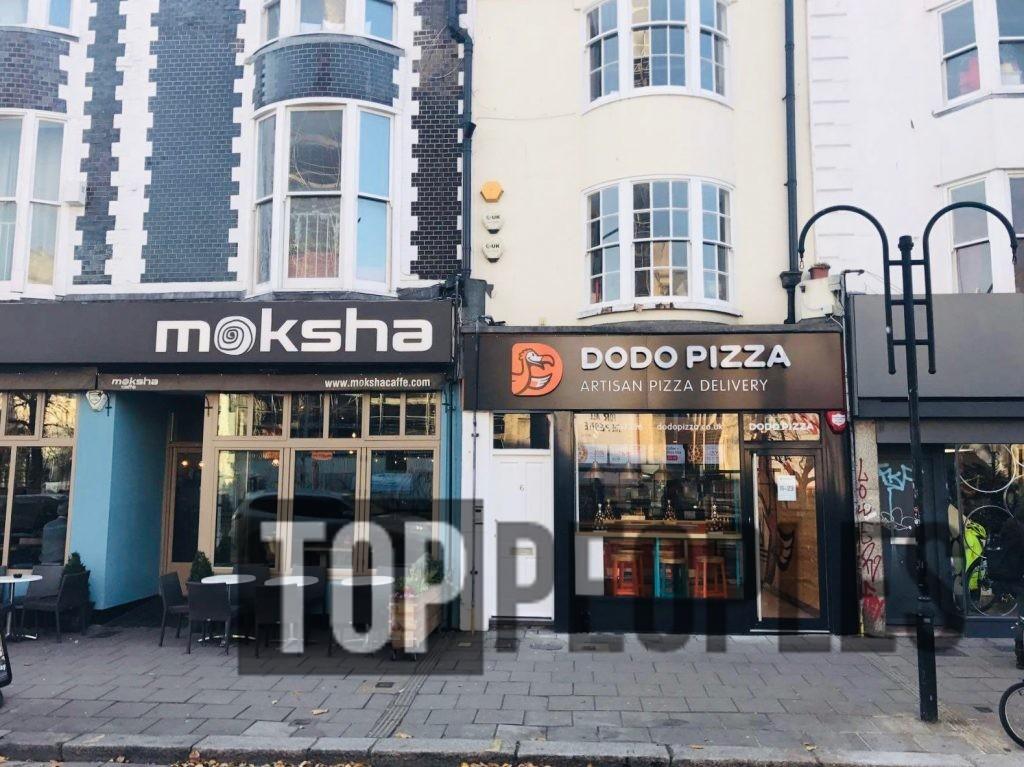 Додо пицца в Великобритании