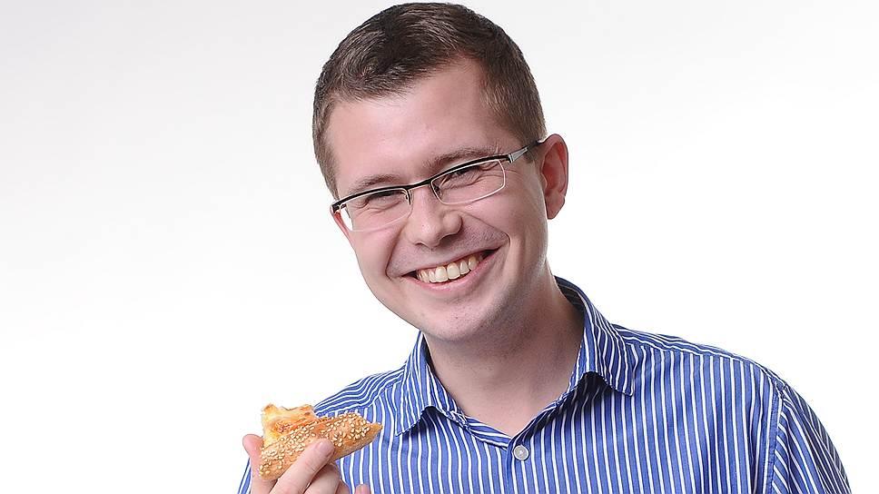 Федор Овчинников и пицца