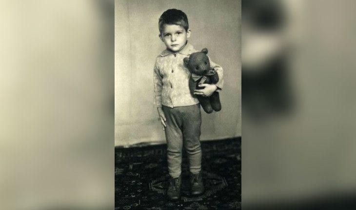 Тиньков в детстве